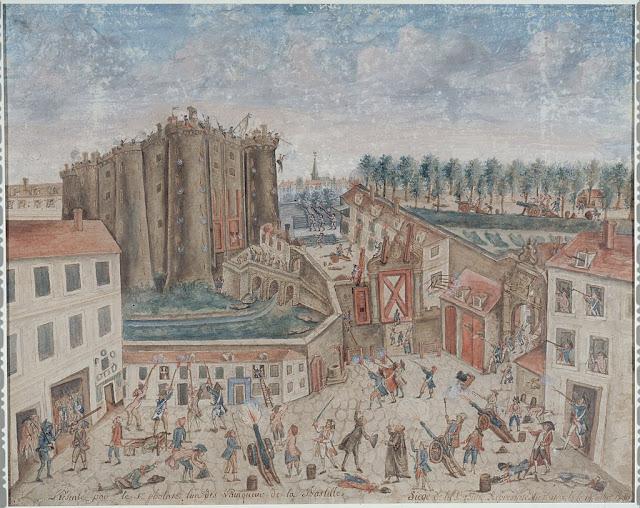 [Viajando na História] O mês de Julho na História - Queda da Bastilha