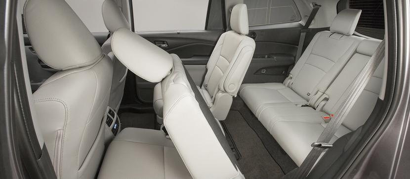 2016 Honda Pilot Third Row Seats