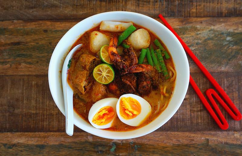Curry Mee (Laksa)