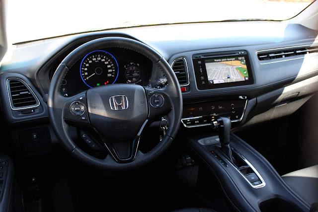 Honda HR-V EXL 2018 - painel