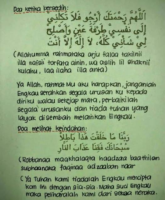 Doa Ketika Bersedih Dan Cara Untuk Keluar Dari Tekanan