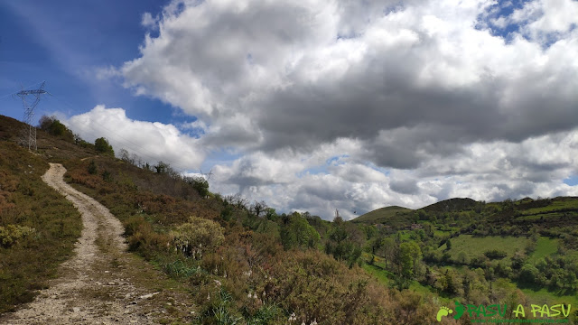 Camino a Faedo en Belmonte