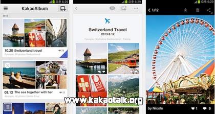 Organiza tus fotos con KakaoAlbum para Android