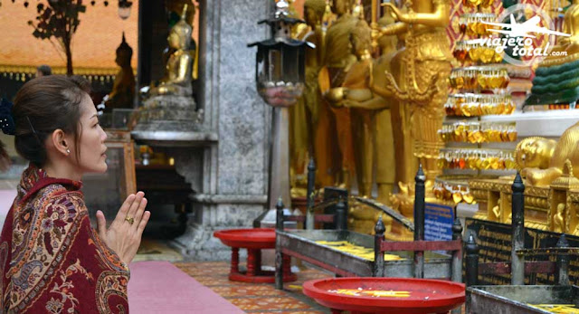 Tailandia - Chiang Mai - Templo Doi Suthep