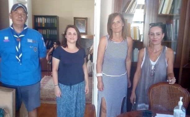 Ναύπλιο: Δίπλα στους Προσκόπους ο ΔΟΠΠΑΤ και η Πρόεδρος Μαρία Ράλλη