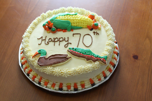 Brooketrout Designs: 70th Birthday Cake