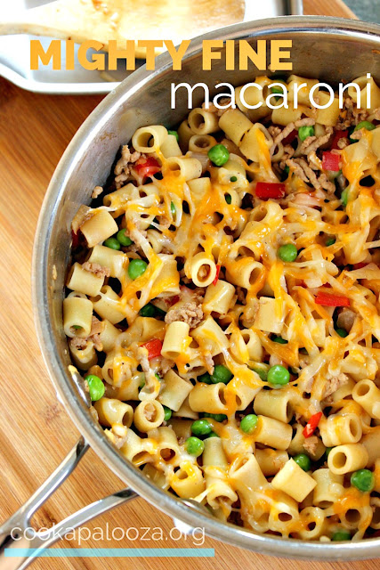 Might Fine Macaroni: Easy Dinner Recipe for Kids and Grown-ups alike!