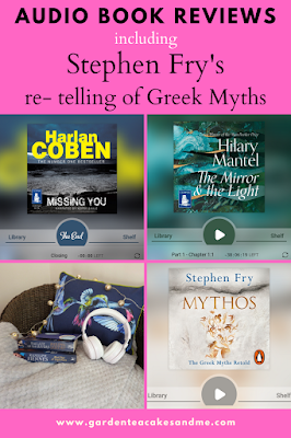 Audio Book reviews greek myths