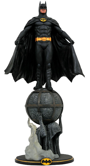 Toy Fair 2020 Diamond Select Batman (1989) DC Gallery Batman 11-Inch PVC Statue