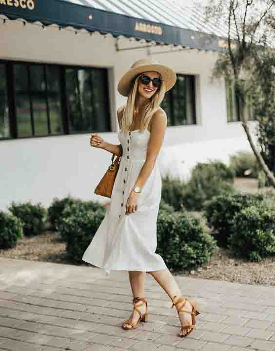 8 maneiras de usar vestido midi