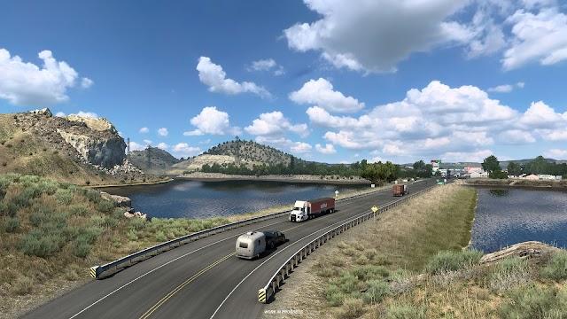 SCS Software: Wyoming - Corpos de Água