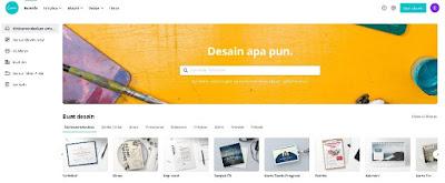 Gambar Situs Web Canva