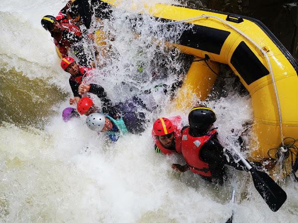 Water Rafting dan Flying Fox Ulu Slim Perak