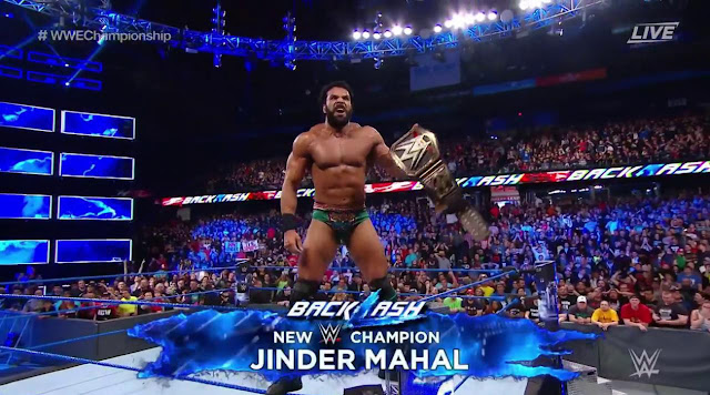Jinder Mahal Randy Orton WWE Championship Backlash