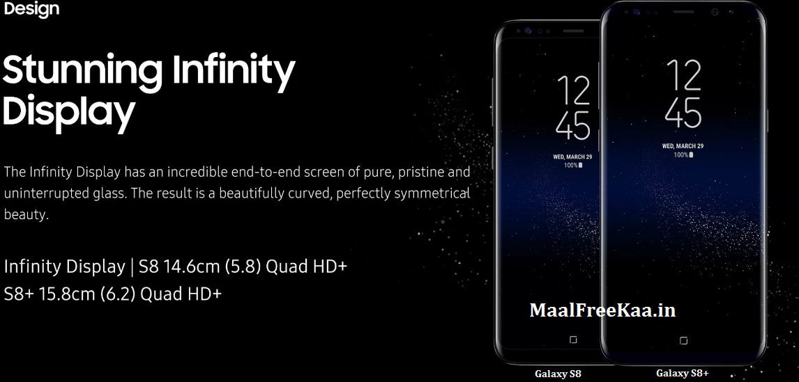 Flagship Phones Samsung S8 And S8 Plus Launched - Freebie Giveaway