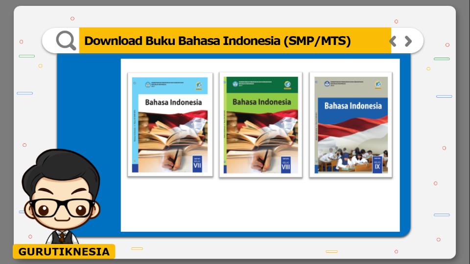 download gratis buku pdf bahasa indonesia untuk smp/mts