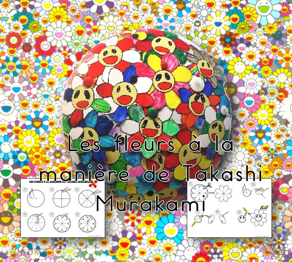 Les Jeux De Jean Noel Realiser Des Fleurs A La Maniere De Takashi Murakami Aux Cycles 2 3