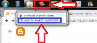 cara buat shortcut menu di bawah layar laptop