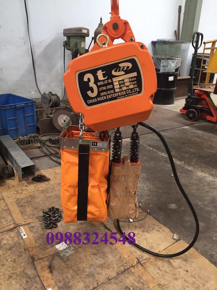 Pa lăng điện xích ITS CH-030S 3 tấn
