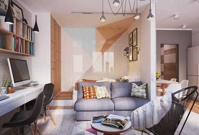 Thiết kế chung cư đẹp - Mẫu số 21