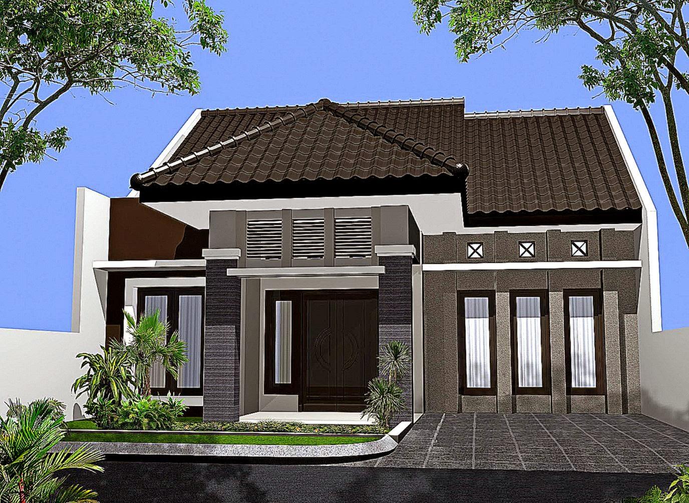 440 Gambar Rumah Tampak Depan Terbaru HD Terbaru