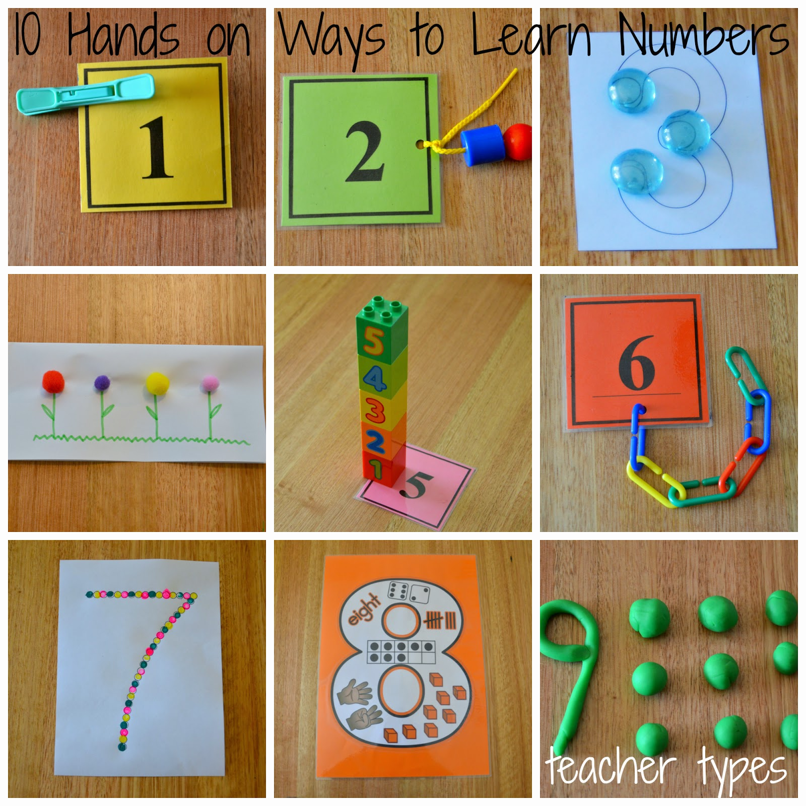 10 Hands On Ways To Learn Numbers