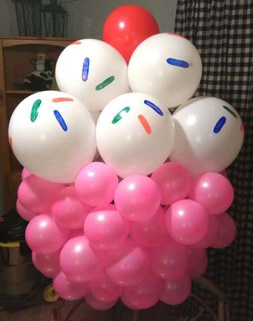 Balloon Birthday Cupcake YouTube Tutorial