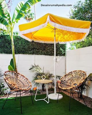 inspirasi desain rumah minimalis unik bergaya retro untuk