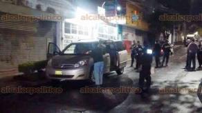 Balacera en Xalapa deja un herido