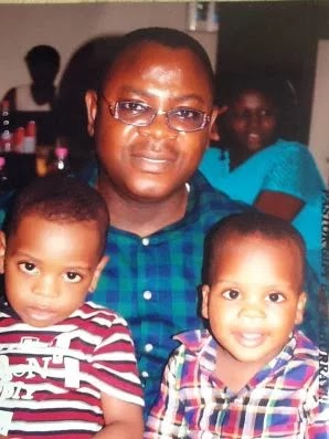 Pastor Andrew Anthony with his kids