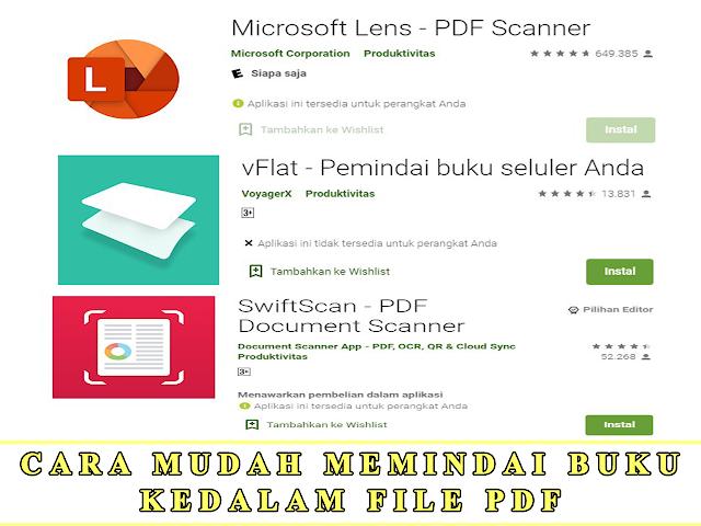 CARA MUDAH MEMINDAI BUKU KEDALAM FILE PDF