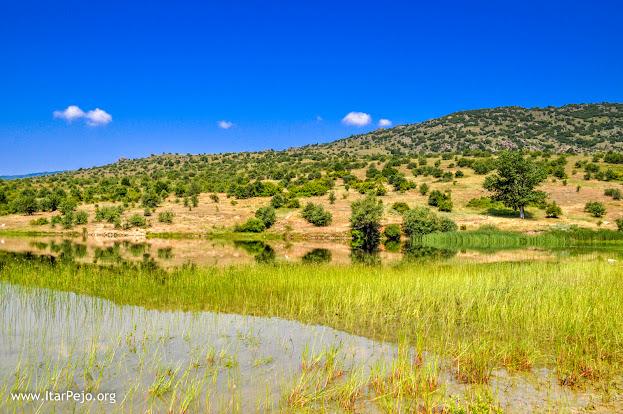 Lake near Dunje village