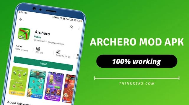 Download Archero Mod Apk Black Mod Ulimated Gams Terbaru