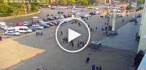 Веб камера Привокзальна площа железнодорожный вокзал