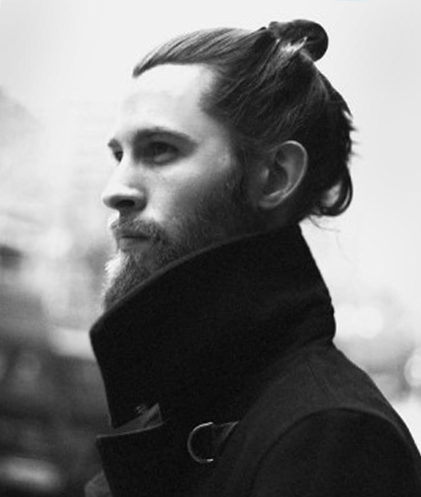 Samurai Bun Hairstyle Hairstyles Spot