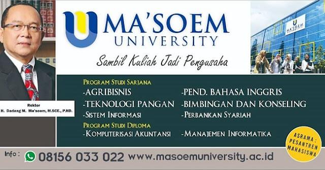 jurusan-agribisnis-teknologi-pangan-ma'soem-university-bandung