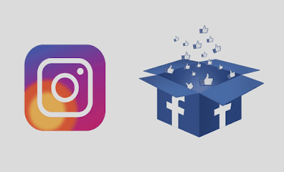 mengaitkan akun facebook dan instagram untuk mendapatkan ceklis biru di ig