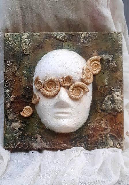 σεμιναριο powertex βημα βημα νο 14 μασκα σε καμβα θεσσαλονικη, πως να φτιαξετε μια αποκριατικη μασκα σε καμβα με Powertex
