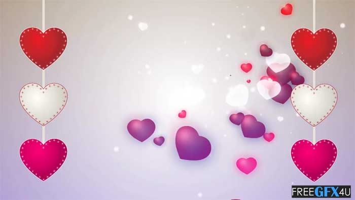 Beautiful Love Title Video Background