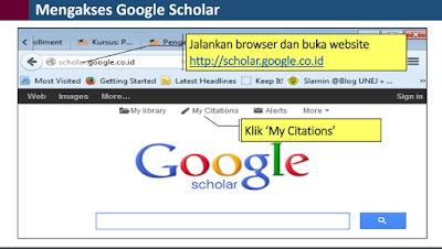 Google Scholar Panduan Lengkap  Akses
