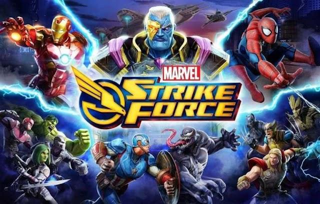 MARVEL Strike Force v2.2.0 Apk Mod [Energia Infinita]