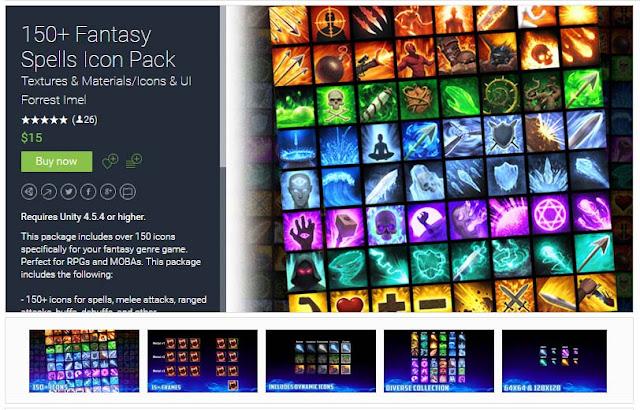 150+ Fantasy Spells Icon Pack 150%252B%2BFantasy%2BSpells%2BIcon%2BPack