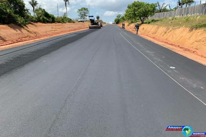 Três rodovias estaduais no oeste paraense ( Oriximiná-Óbidos -Curuá) ganham pavimentação