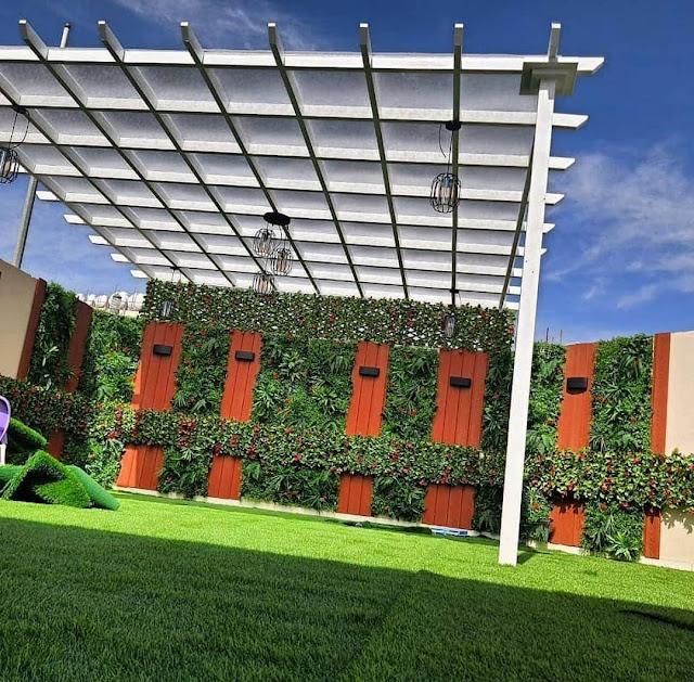 تركيب العشب الجداري في خميس مشيط