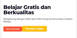 Berkenalan dengan Gratisinbelajar.com, Platform E-Learning Gratis