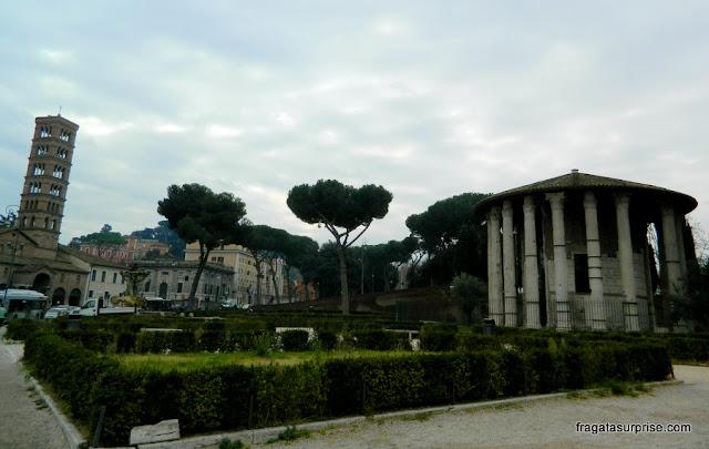 Praça da Boca da Verdade, Roma, antigo Fórum Boário