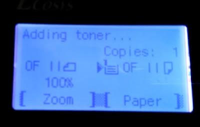 Adding Toner Kyocera
