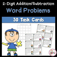 2 Digit Word Problems