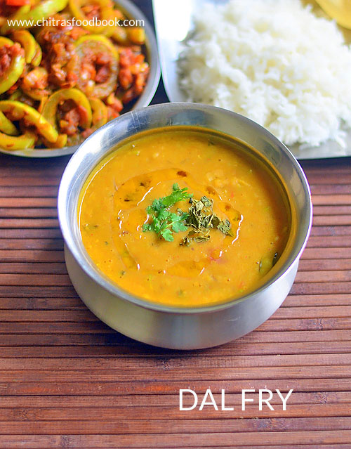 Dal Fry Recipe In Restaurant Style