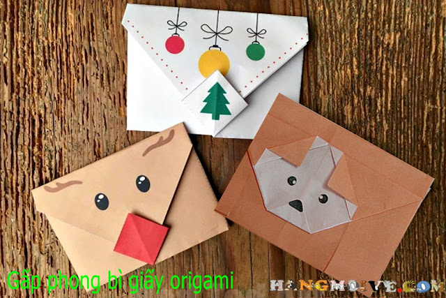 How to Make Dog Envelopes or Origami Letter